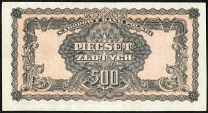 500 złotych 1944 ...owe - Hd -