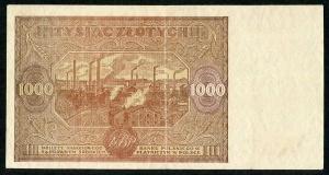 1000 złotych 1946 – A. -