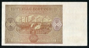 1000 złotych 1946 – Wb. -