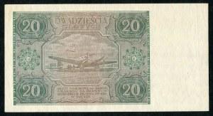 20 złotych 1946 - F -