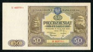 50 złotych 1946 - M -