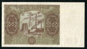 1000 złotych 1947 ser. D