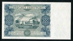 500 złotych 1947 seria F3