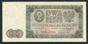 2 złote 1948 - L -