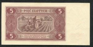 5 złotych 1948 - BR -