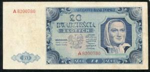 20 złotych 1948 - A -