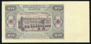 20 złotych 1948 - HM -