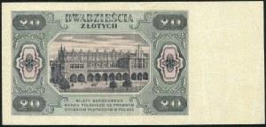 20 złotych 1948 - BK -