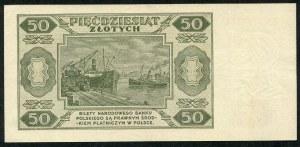 50 złotych 1948 - BS -