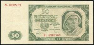 50 złotych 1948 - AL -