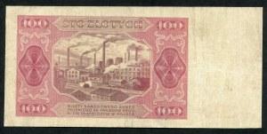 100 złotych 1948 - EL -