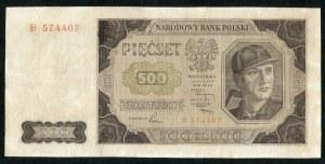 500 złotych 1948 - B -