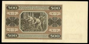 500 złotych 1948 - AF -