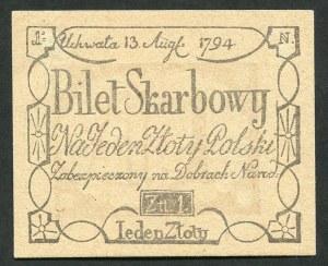1 złoty 1794 odbitka z 1967