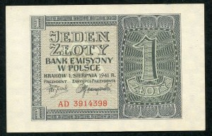 1 złoty 1941 - AD -