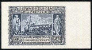 20 złotych 1940 - G -