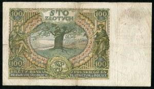 100 złotych 1934 ser. AS. oryginalny przedruk okupacyjny