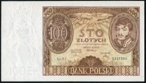 100 złotych 1934 ser. BS.