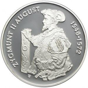 10 złotych 1996, Zygmunt II August (półpostać)