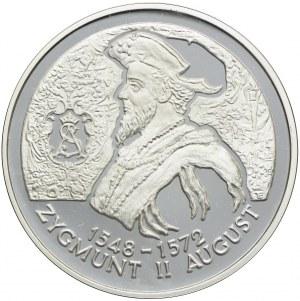 10 złotych 1996, Zygmunt II August (popiersie)