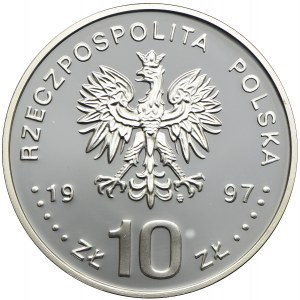 10 złotych 1997, Stefan Batory (popiersie)