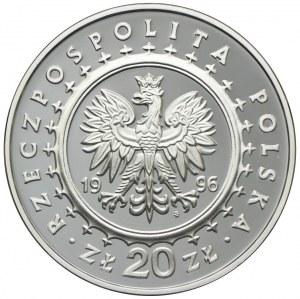 20 złotych 1996 Lidzbark Warmiński