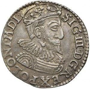 Zygmunt III Waza, trojak 1593, Olkusz