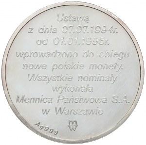 Polska, III RP, złotogrosz 1995, Warszawa
