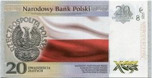 20 złotych, 2018, Niepodległość