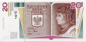 20 złotych, 2015, Jan Długosz