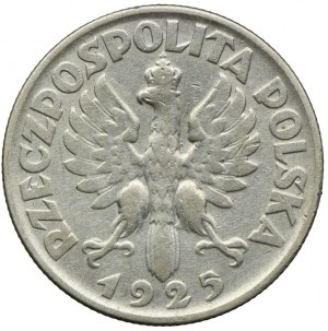 2 złote 1925 Filadelfia, bez kropki po dacie, Kobieta i kłosy