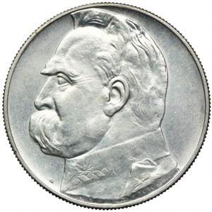 10 złotych 1939, Józef Piłsudski