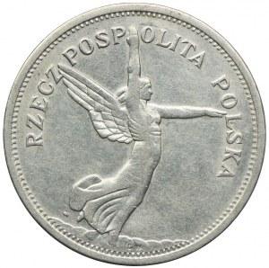 5 złotych 1928 ze znakiem, Nike