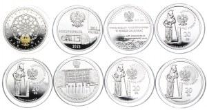 Zestaw monet 20 złotych 2014-2020 (8szt.)