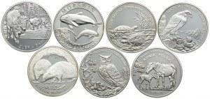 Zestaw monet 20 złotych 2002-2014 (7szt.)