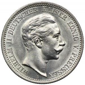 Niemcy, Prusy, 2 marki 1907 A