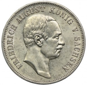 Niemcy, Saksonia, 5 marek 1914 E