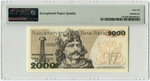 2000 złotych 1979 - AA - PMG 66