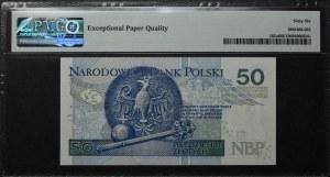 50 złotych 2012 - AA - PMG 66
