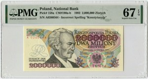 2000000 złotych 1992 - A -