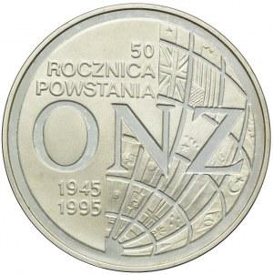 20 złotych 1995, 50 Rocznica Powstania ONZ