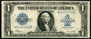 USA, banknot 1 dolar 1923