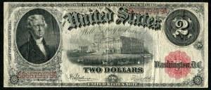 USA, banknot 2 dolary 1917