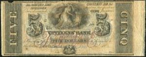 USA, banknot 5 dolarów 18**