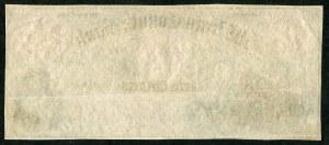 USA, banknot 5 dolarów 1855