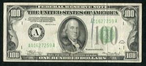 USA, banknot 100 dolarów 1934