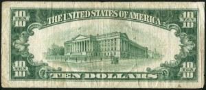 USA, banknot 10 dolarów 1934