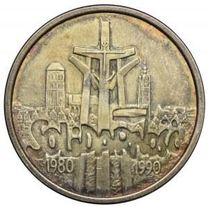 100.000zł 1990, Solidarność, typ B