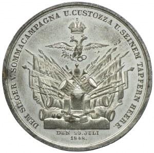 Austria, Bitwa pod Custozą - Graf Radetzky 1848