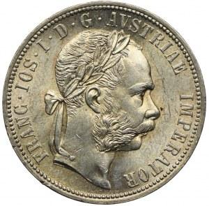 Austria, Franciszek Józef I, 1 floren 1886 Wiedeń